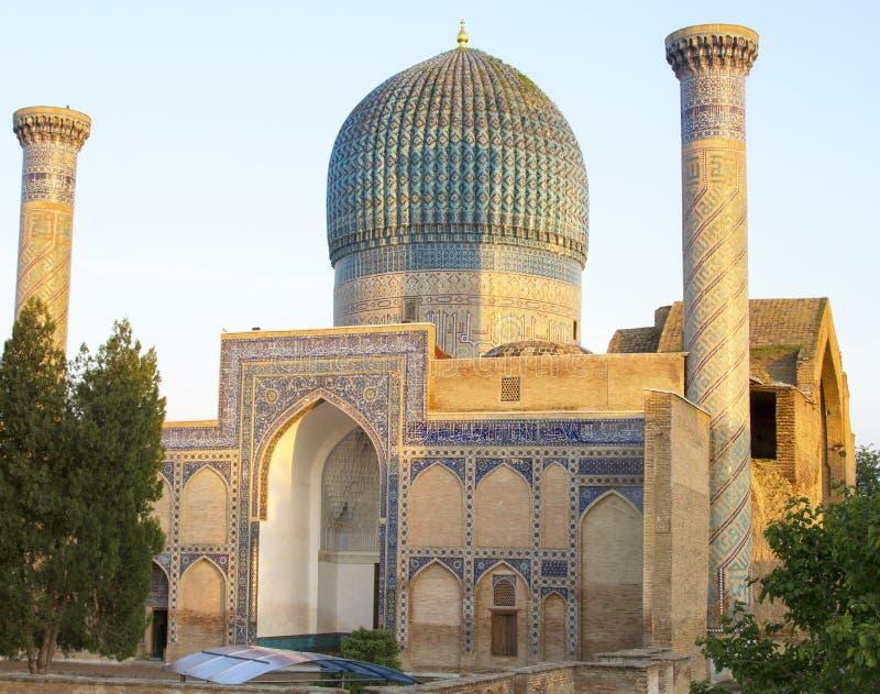 Mausolée d'Emir Timur à Samarkand image libre de droits