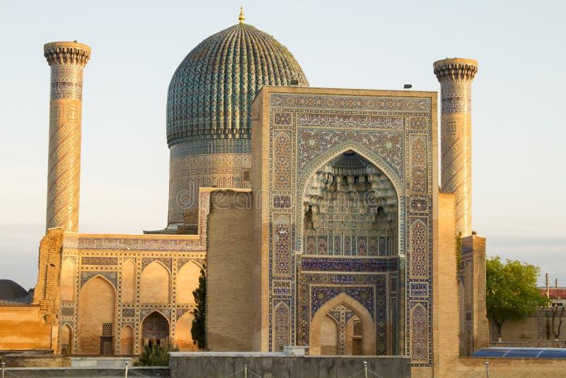 Mausolée d'Emir Timur à Samarkand photo stock