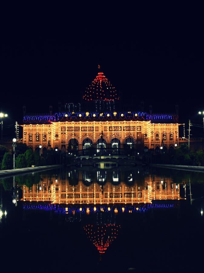 Mausolée d'Imambara, Lucknow, Inde images libres de droits