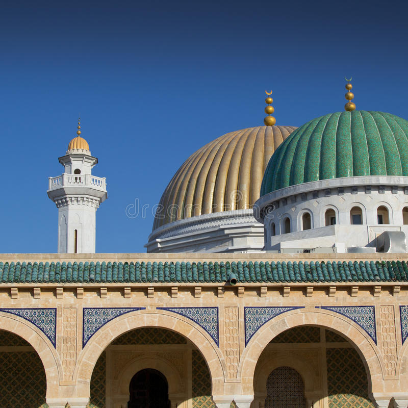 Mausolée dans Monastir, Tunisie photographie stock