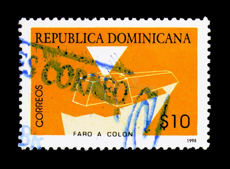 Mausolée de Columbus, vers 1998 photographie stock libre de droits
