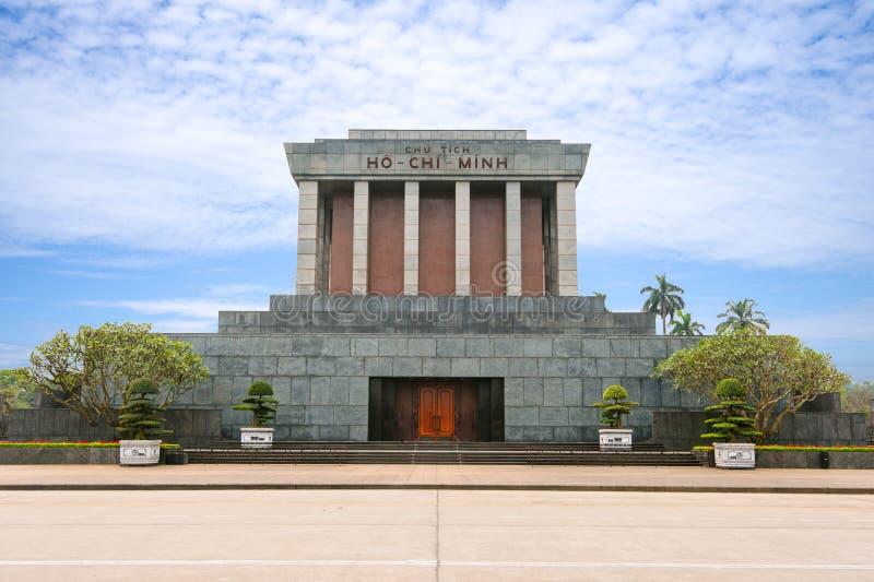 Mausolée de Ho Chi Minh à Hanoï, Vietnam image libre de droits