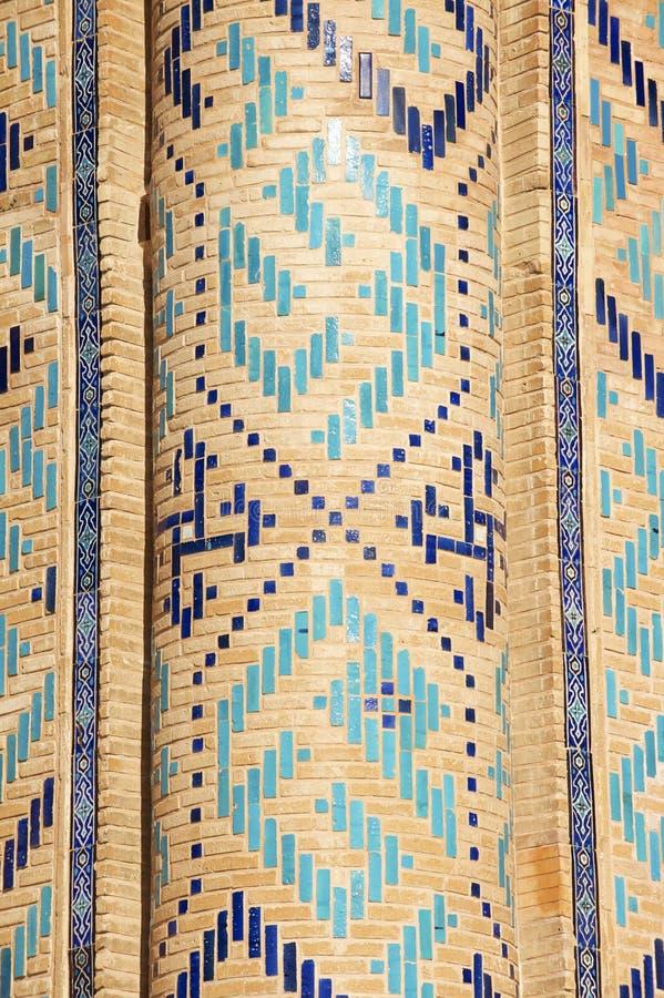 Mausolée de Khoja Ahmed Yasavi dans Turkistan, Kazakhstan photographie stock
