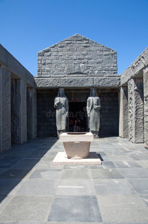 Mausolée de Lovcen, Monténégro images libres de droits