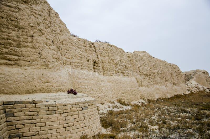 Mausoléu da dinastia Xia Mausoleum ocidental de Xixia foto de stock