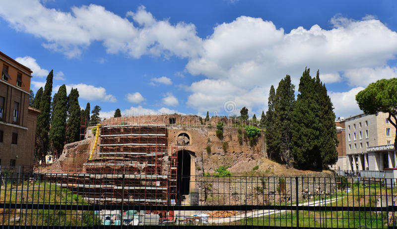 Mausoléu de Augustus imagem de stock royalty free