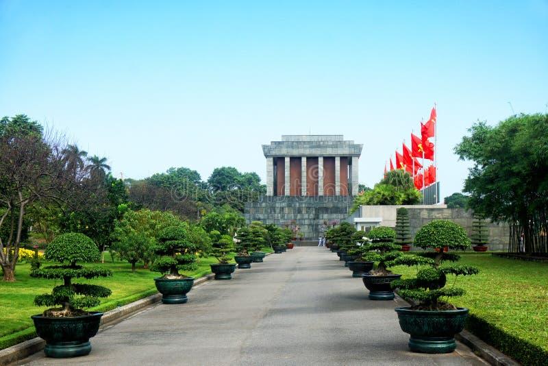 Mausoléu de Ho Chi Min fotografia de stock royalty free