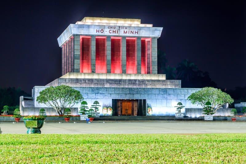 Mausoléu de Ho Chi Minh fotos de stock royalty free