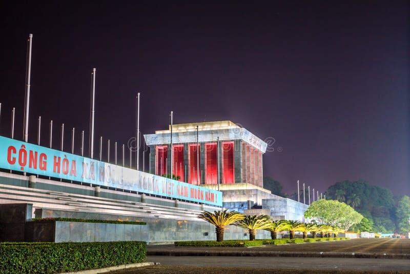 Mausoléu de Ho Chi Minh fotos de stock