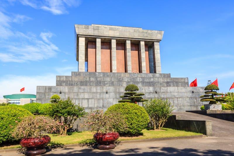 Mausoléu de Ho Chi Minh em Hanoi, Vietnam foto de stock