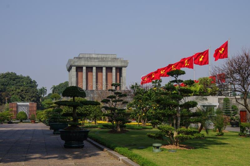 Mausoléu de Ho Shi Min imagem de stock royalty free