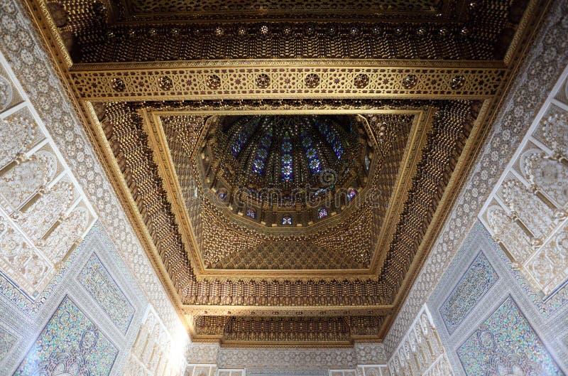 Mausoléu de Mohammed V, Rabat fotos de stock