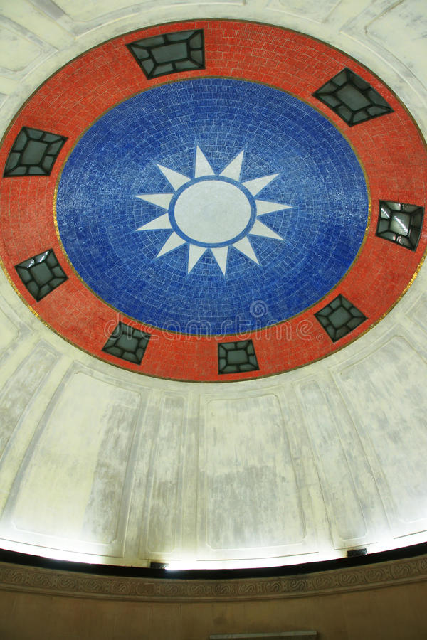 Mausoléu de Sun Yat-sen fotografia de stock