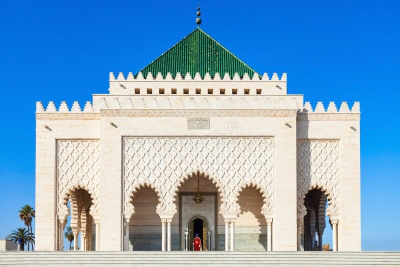 Mausoléu Mohammed V imagem de stock