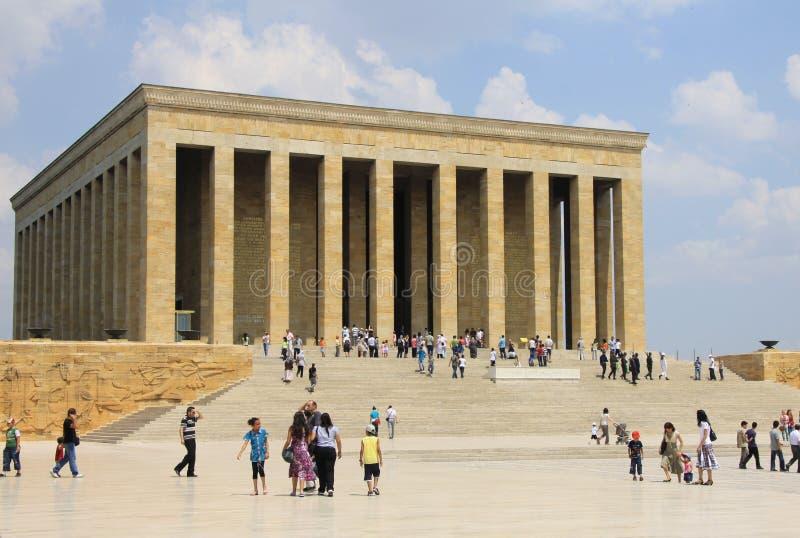 Mausoleo Ankara 2 di Ataturk immagine stock