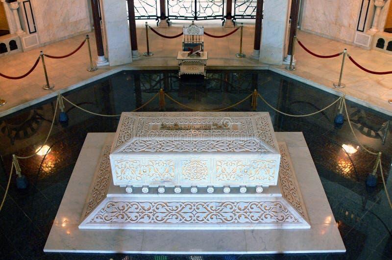 Mausoleo de Habib Bourgiba foto de archivo