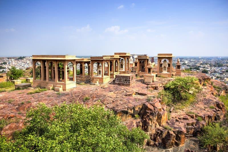 Mausoleo de Jaswant Thada imágenes de archivo libres de regalías