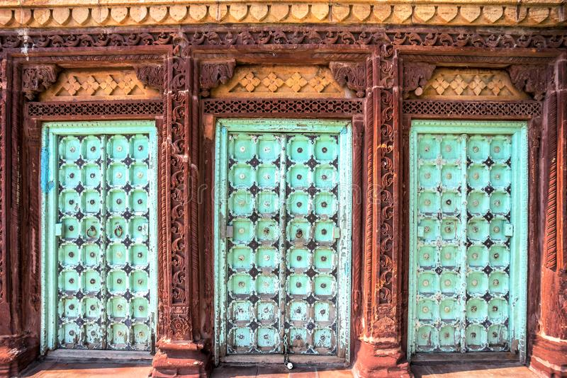 Mausoleo de Jaswant Thada foto de archivo