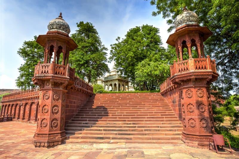 Mausoleo de Jaswant Thada imagen de archivo