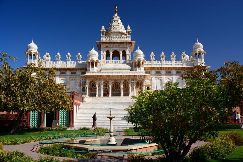 Mausoleo de Jaswant Thada Jodhpur Rajasthán La India fotos de archivo