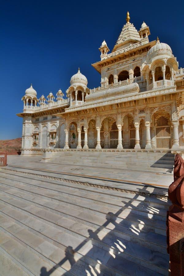 Mausoleo de Jaswant Thada Jodhpur Rajasthán La India imagen de archivo libre de regalías