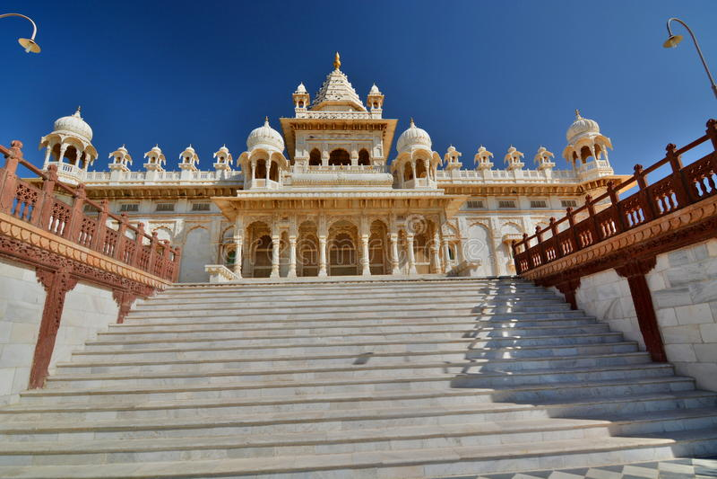 Mausoleo de Jaswant Thada Jodhpur Rajasthán La India fotografía de archivo