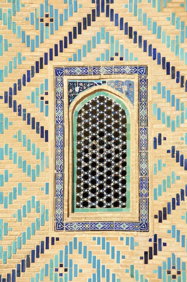 Mausoleo de Khoja Ahmed Yasavi en Turkistan, Kazajistán foto de archivo