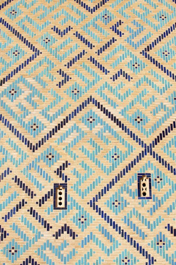 Mausoleo de Khoja Ahmed Yasavi en Turkistan, Kazajistán foto de archivo libre de regalías