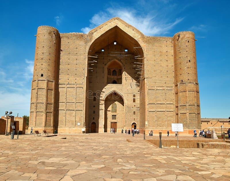 Mausoleo de Khoja Ahmed Yasawi, Turkestan, Kazajistán fotografía de archivo libre de regalías