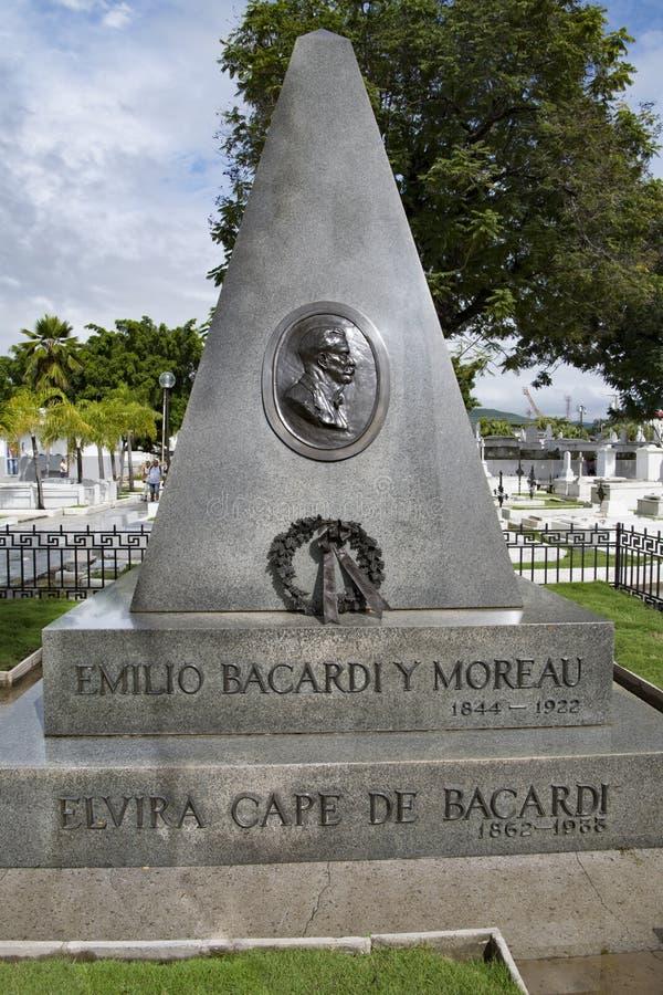 Mausoleo de la familia de Bacardi, Santiago de Cuba foto de archivo libre de regalías