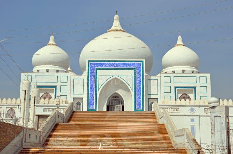 Mausoleo de la familia de Bhutto fotografía de archivo libre de regalías