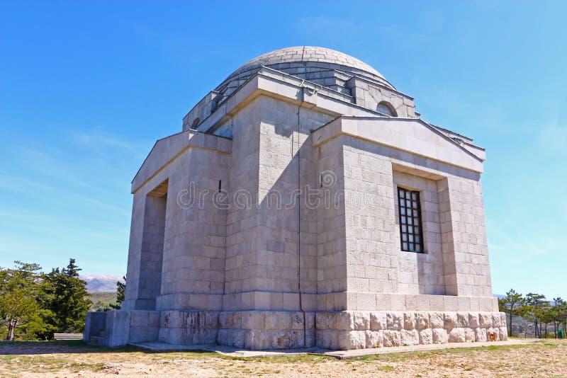 Mausoleo de la familia de Mestrovic foto de archivo libre de regalías