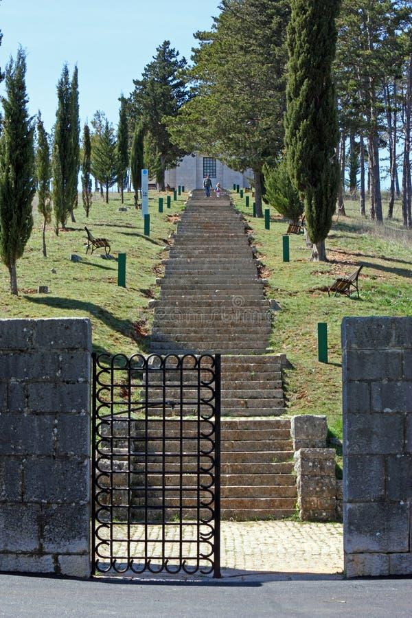 Mausoleo de la familia de Mestrovic fotos de archivo libres de regalías
