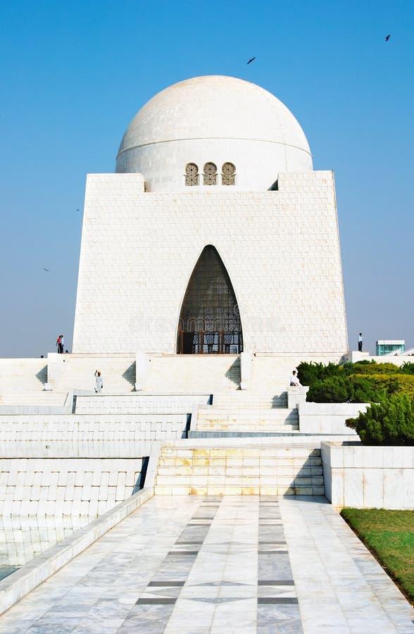 Mausoleo de Mazar-e-Quaid fotografía de archivo