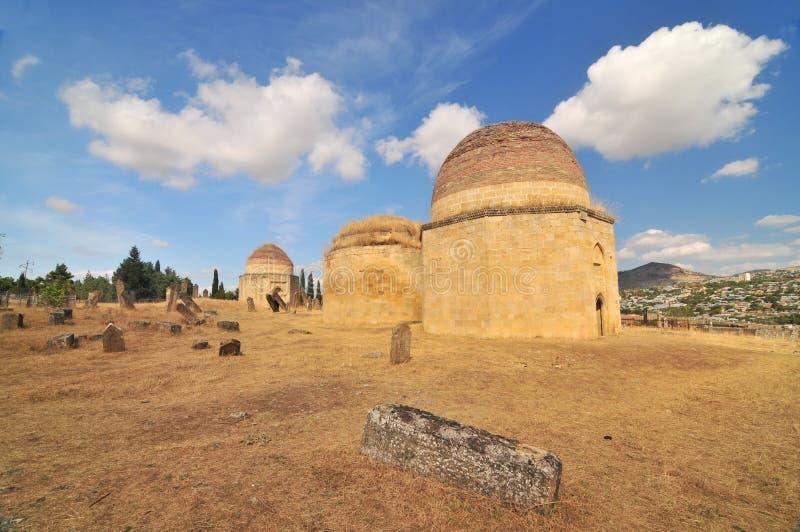 Mausoleo de Yeddi Gumbaz fotografía de archivo