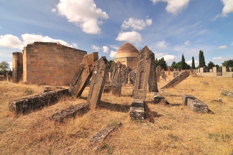 Mausoleo de Yeddi Gumbaz fotografía de archivo libre de regalías