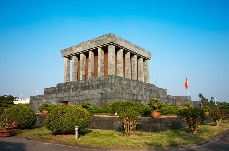 Mausoleo del Ho Chi Minh a Hanoi. immagini stock libere da diritti
