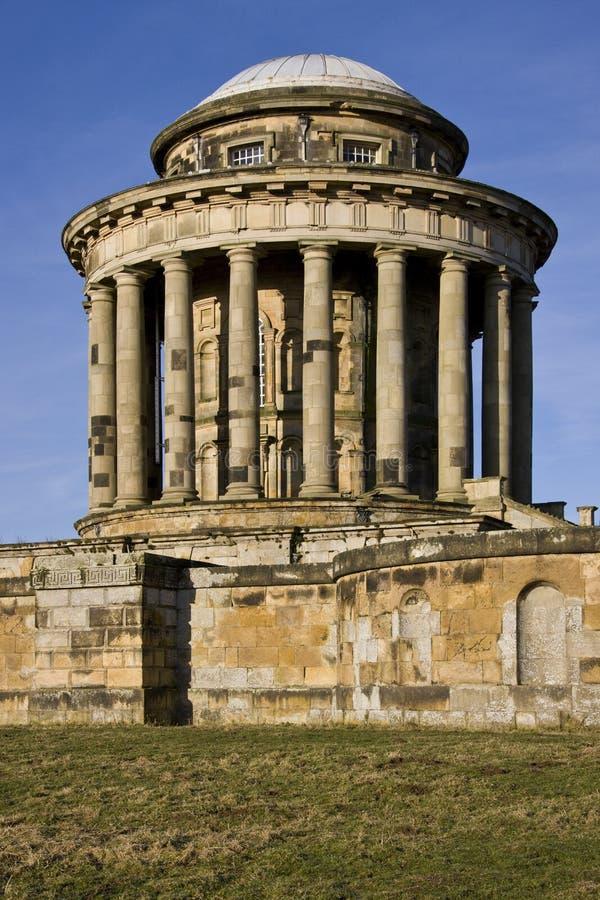 Mausoleo del Howard del castello - Inghilterra fotografia stock libera da diritti