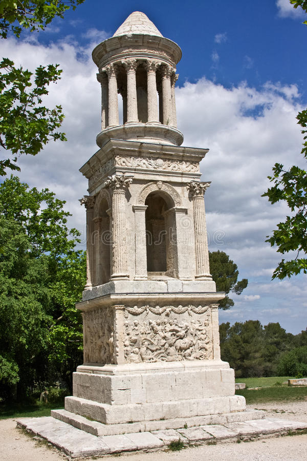 Mausoleo del Julii fotografie stock libere da diritti