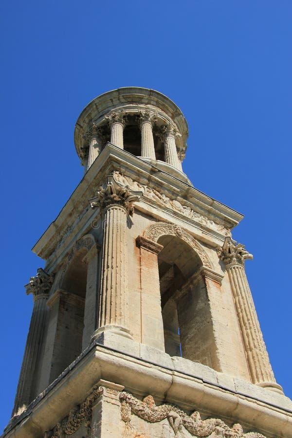 Mausoleo del Julii, santo Remy de Provence fotos de archivo