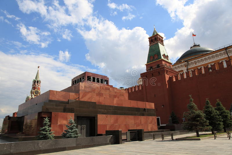 Mausoleo del Lenin fotografia stock