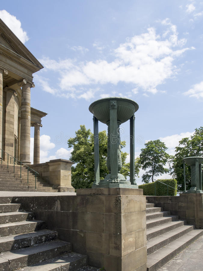 Mausoleo del rttemberg del ¼ di WÃ, Stuttgart fotografia stock