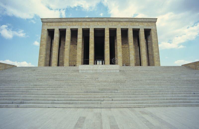 Mausoleo di Ataturk immagine stock