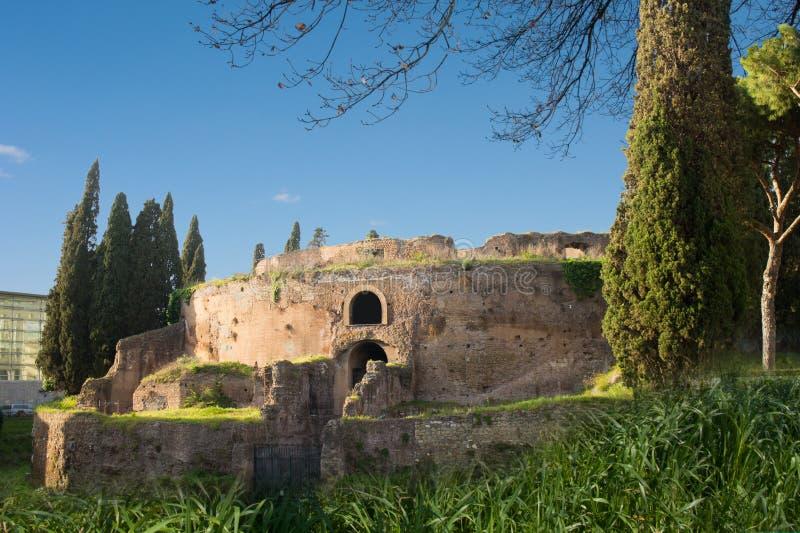 Mausoleo di Augusto images libres de droits
