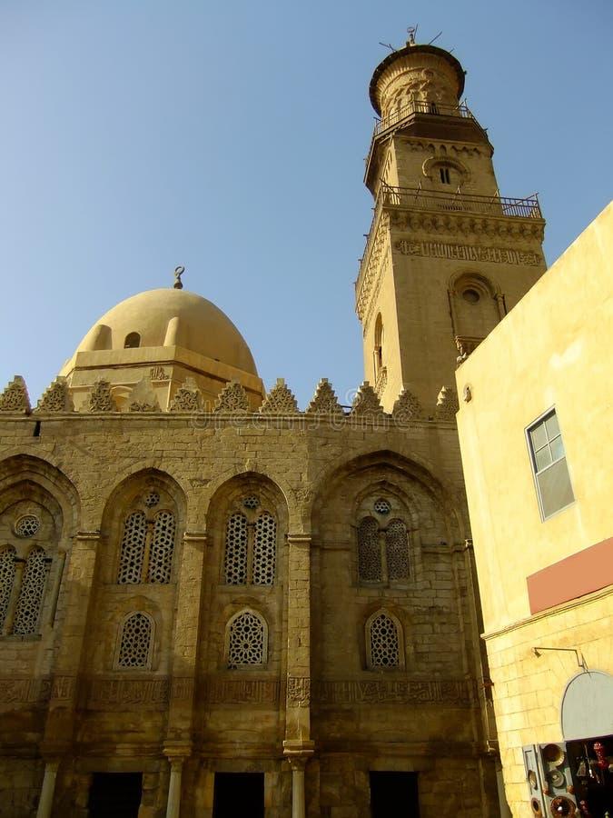 Mausoleo Di Madrasah E Moschea, Complesso Di Qalawun, Il Cairo Fotografia Stock
