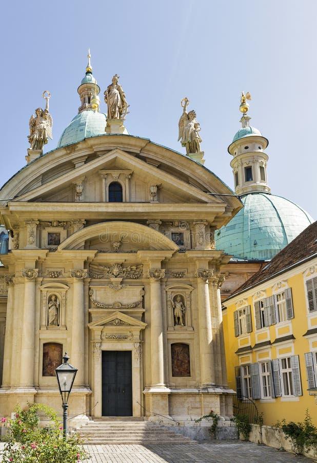 Mausoleo e Catherine Church a Graz, Austria immagine stock
