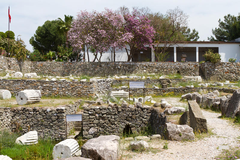 Mausoleo a Halicarnassus immagine stock libera da diritti