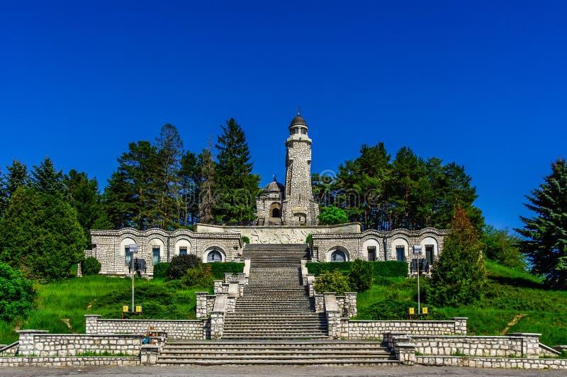 Mausoleul Eroilor stockfotografie