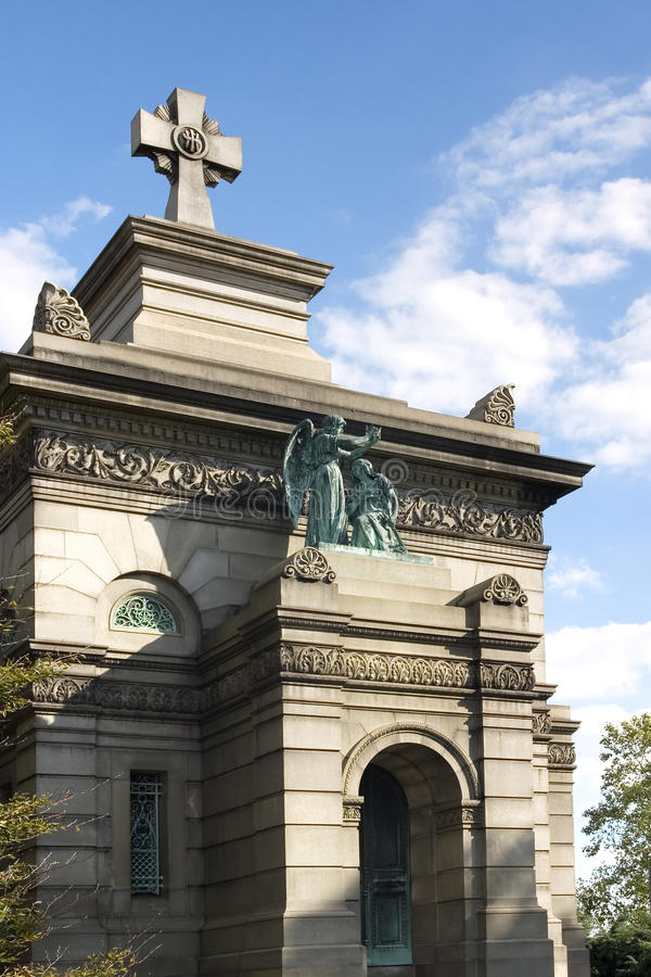 Download Mausoleum stock photo. Image of sepulcher, cemetery, blue - 12149438