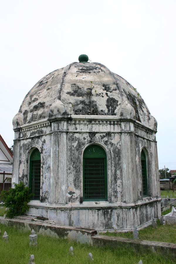 Download Mausoleum stockbild. Bild von malaysia, asien, malacca, religion - 36907